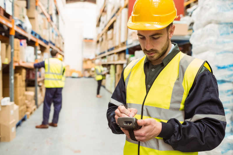 Asset Tracking in Warehouse