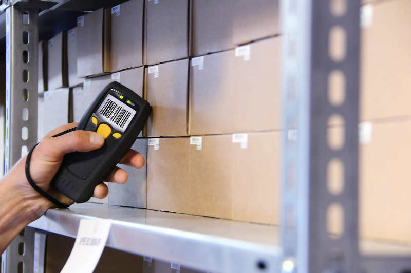 Scanning boxes with RFID Tags